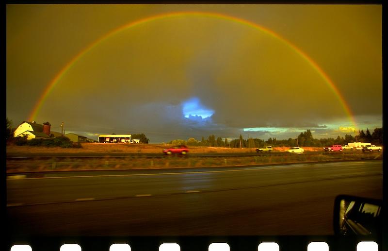 Damn fine rainbow